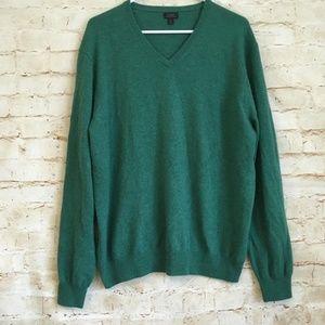 J. Crew Men's Cashmere V-Neck Sweater